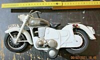 moto latta POLICE - BANDAI TOY JAPAN anni 60 originale