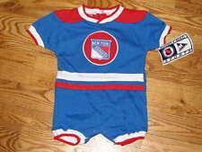 NEW Baby NY New York Rangers NHL Jersey Creeper Size 18M 18 Mo. Boys Romper
