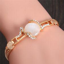 Lovely New Style Austrian Crystal Opal 18K gold Plated Women's Bracelet