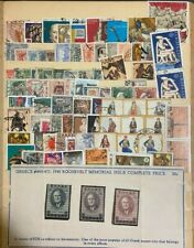 Antique Vintage Greece Stamp Collection Lot Of Stamps