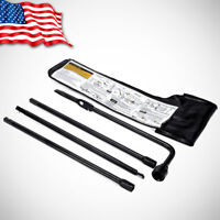 Spare Tire Lug Wrench & Jack Tool Kit for Chevy GMC Cadillac Pickup Truck SUV US