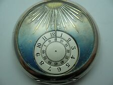 Tildy brevet máximo rara viejos señores digital de reloj de plata 800