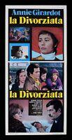 L72 Plakat Die Geschieden Annie Girardot