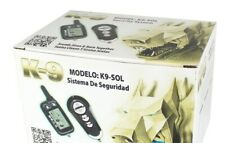Excalibur Omega K9/Sol 2-Way LCD Car Alarm Keyless Entry Security System