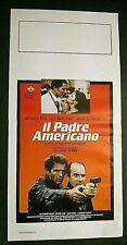 Locandina originale del 1987 Il Padre Americano - Regia di Philippe Charigot