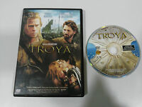 TROYA TROY DVD BRAD PITT ERIC BANA ORLANDO BLOOM ESPAÑOL ENGLISH REGION 2