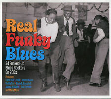 REAL FUNKY BLUES - 2 CD BOX SET - MY THANG, ROCK BOTTOM & MORE