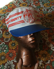 VTG 80s Run for Liberty Painters Hat Cap NYC New York City Marathon Campaign