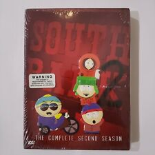 South Park - The Complete Second Season (Dvd, 2003, 3-Discs) *New Sealed*