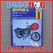 Cb motorcycle repair manuals literature ebay honda cb750 sohc fours haynes workshop manual 970131 publicscrutiny Gallery