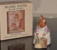 Beatrix Potter's  Hunca Munca  - F. Warne  Co. - Beswick, England 1977 + More