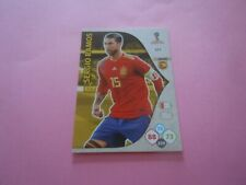 Euro 2012 Espagne Sergio Ramos Vignette panini N°291 Pologne // Ukraine
