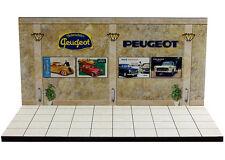 Diorama présentoir Peugeot Museum/Showroom - 1/43ème - #43-2-C-C-011