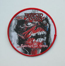 MORBID SAINT [red]  --- Woven Patch / Sadus Kreator Possessed Merciless