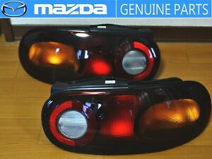 MAZDA GENUINE OEM RHD 89-98 Roadster MX-5 Miata NA6/8C Taillight Set Tail Lamp