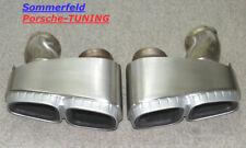 Porsche Panamera 970 Klappenauspuff Endrohre Tail Pipe 97011168151 97011168251