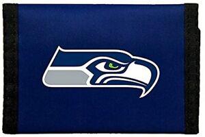 Rico NFL Seattle Seahawks Nylon Trifold Wallet