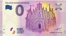BILLETE 0€ PALACIO DE GAUDI ASTORGA