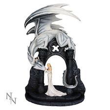 Nemesis Now Gwyneth's Overseer Dragon Figurine Gothic Fairy Ornament Statue 45cm