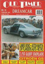 1993 auto d'epoca rivista 53 CITROËN GS, Aston Martin v8, Gilbert staepelaere