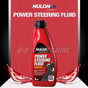Nulon Power Steering Fluid 1L for ISUZU D-MAX MU-X NKR150 200 250 58 NLR 200 NLS