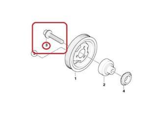 MINI Genuine Crankshaft Pulley Bolt (14 X 70 mm) 11217616164
