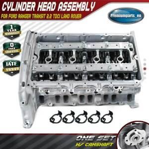 Cylinder Head w/ Camshaft for Ford Ranger Transit 2.2 TDCi 11-On Defender Euro 5