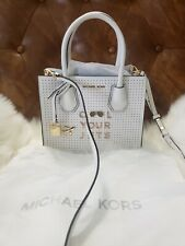 Michael Kors Studio Mercer Perforated Croosbody/Handbag