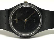 Rare Vintage 1984 Swatch Watch Black Magic GB101RE reloj, Orologio, Armbanduhr,
