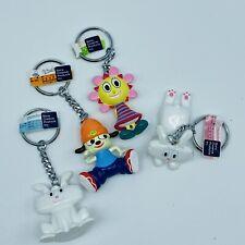 PARAPPA THE RAPPER Thunder Bunny Figure Keychain Set Japan PlayStation Sony