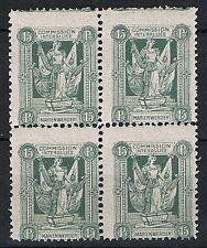 Marienwerder 3 y B Viererblock, postfrisch, Mi. 20,-