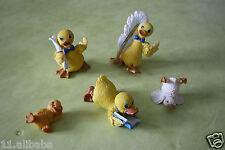 lot de 5 canards en résine