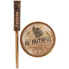 New Flextone Ol Faithful Glass Turkey Call Fg-Turk-00126