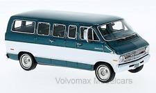 wonderful modelcar DODGE SPORTSMAN 1973 - darkturquoise metallic/white - ltd.700