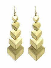 Gold Coloured Fashion Earrings