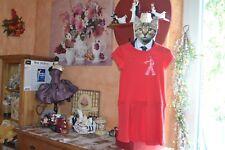 catimini robe neuve 8 ans rouge la demoiselle ideal ete tres mode
