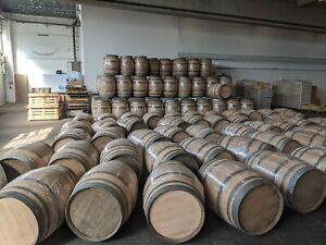 Weinfass 225l La Rioja Spanien Regentonne Bar Bartisch Blumenkübel