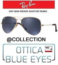 Occhiali da sole RAYBAN RB 3025 aviator remix AT COLLECTION ray ban sunglasses