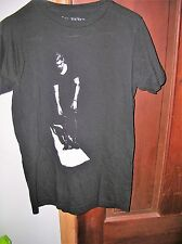 Justin Bieber- Walking the Line womans small T-Shirt - Black GREAT CONDITION