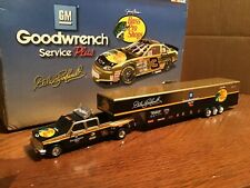 Dale Earnhardt Bass pro shop Goodwrench 1995 NASCAR  DUALLY & SHOW TRAILER 1:64