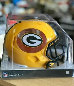 GREEN BAY PACKERS HELMET COIN BANK PACKERS PIGGY BANK GREEN BAY PACKERS WALLET