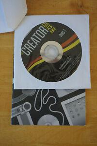 Roxio Creator PRO 2012 Digital Media Suite Music Photo Video - No Box