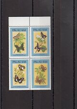 TIMBRE STAMP 4 PALAU Y&T#150-53 PAPILLON BUTTERFLY NEUF**/MNH-MINT 1987~A04