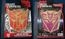 Transformers Movie Autobot & Decepticon Logo Patches