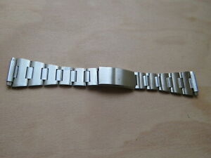 NOS Vintage Sixties Stainless Steel watch armband 16mm-22mm Bracelet Armband 3 L