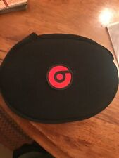 New Genuine Beats by Dr. Dre For Solo Headphone Soft Carrying Case Plus Aux Cord
