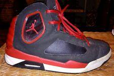Nike Air Jordon Shoes Mens Size 8.5 Medium Red Black Athletic Basketball Shoe