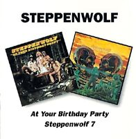 STEPPENWOLF - AT YOUR BIRTHDAY PARTY/STEPPENWOLF 7 2 CD NEU