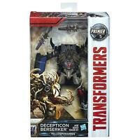 Transformers The Last Knight Premier Edition Deluxe Decepticon Berserker Figure