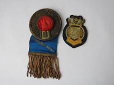 Sons Of St George Medal c 1900, Mine Sweeping Anti Submarine Badge WWII